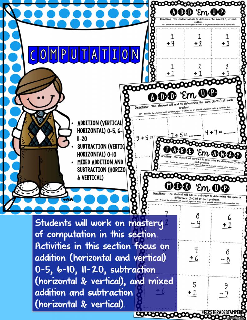 Math Intervention:  A Math Intervention Binder Resource Tour