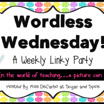 Wordless Wednesday:  Glitter the Elf!