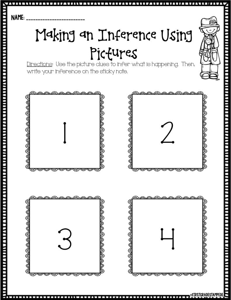 http://www.teacherspayteachers.com/Product/Make-an-Inference-FREEBIE-1711325