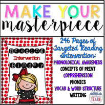 TPT Seller Challenge Week 3:  Create Your Masterpiece!