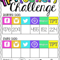 TPT Seller Challenge Week 1:  Makeover Madness!
