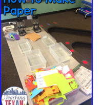 Monday Motivation:  Making Recycled Paper
