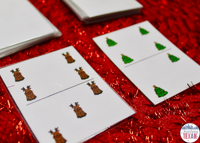Winter Math Games for Kindergarten