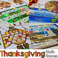 Thankful for Math Games