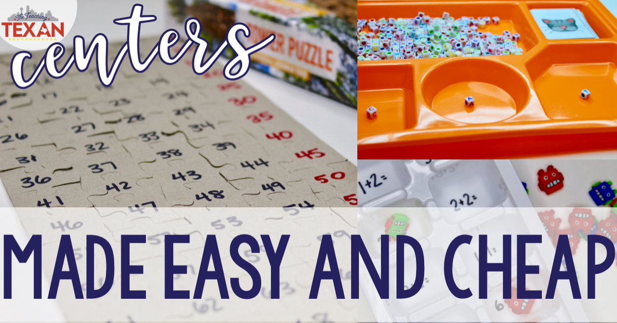 3 Amazing Center Activities That Are Easy and Cheap