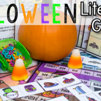Spotlight on Awesome Halloween Reading Center Games that will make you Shriek BOO!