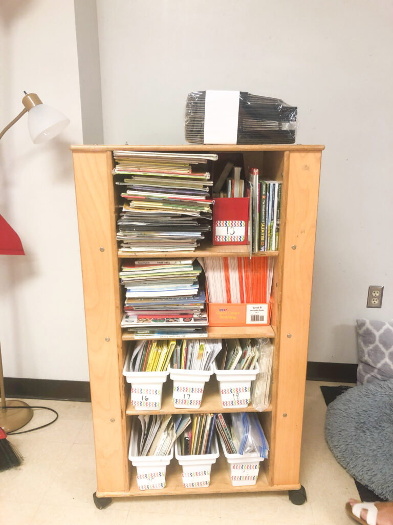 DFW Classroom Library Flip Reveal