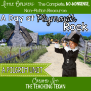 A Day at Plymouth Rock Unit Kindergarten The Teaching Texan