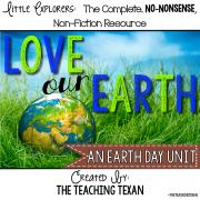 Earth Day Unit Kindergarten First Grade