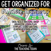 Guided Reading Organization Bundle 8x8