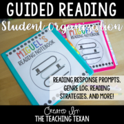Guided Reading Student Notebooks 8x8
