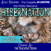 Hibernation Non Fiction Unit Kindergarten The Teaching Texan