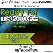 Solar System Unit Kindergarten First Grade