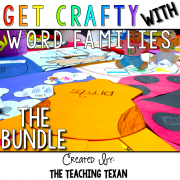 Word Family Crafts Kindergarten The Teaching Texan